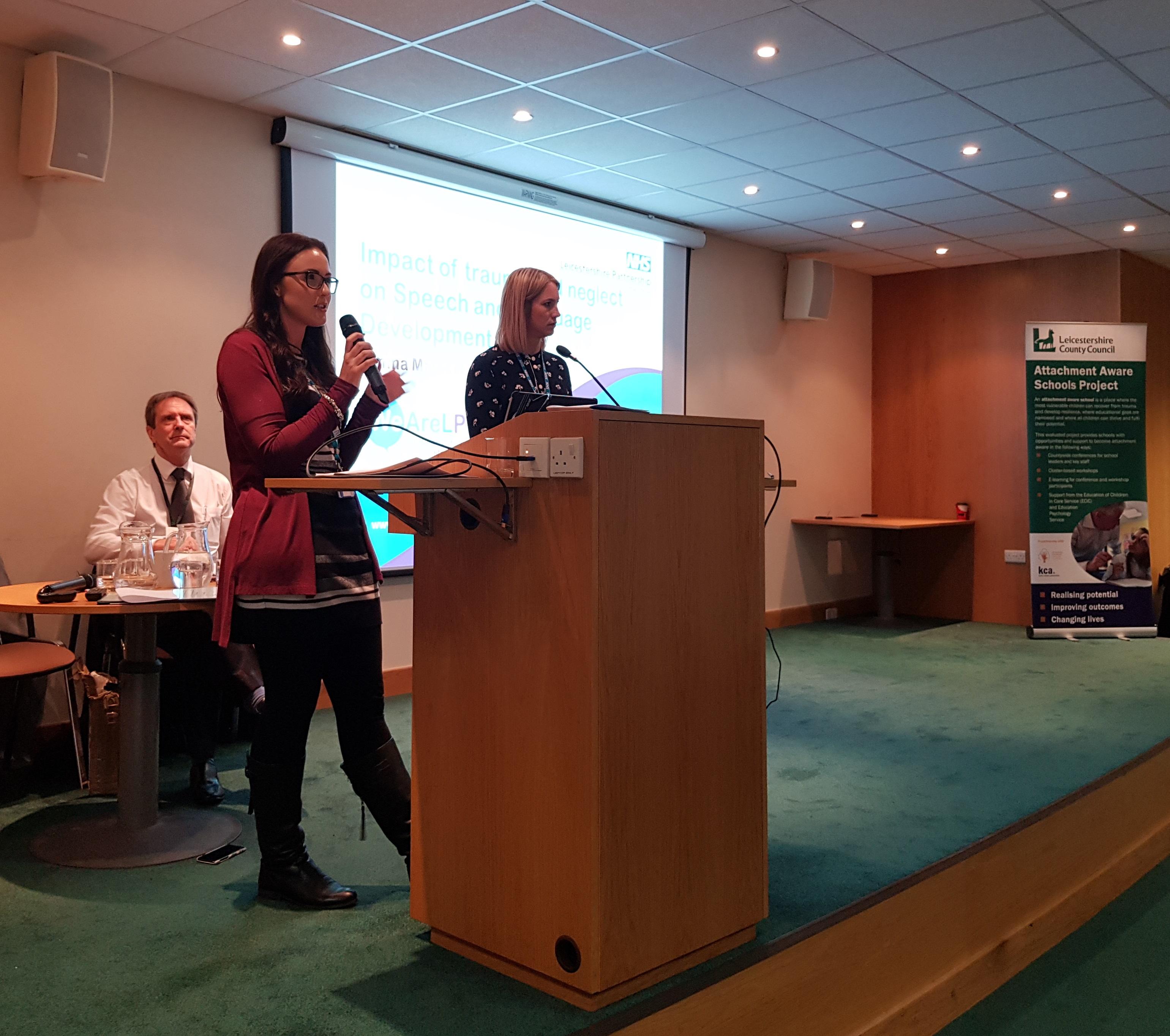 Leicestershire NHS Partnership Trust speakers