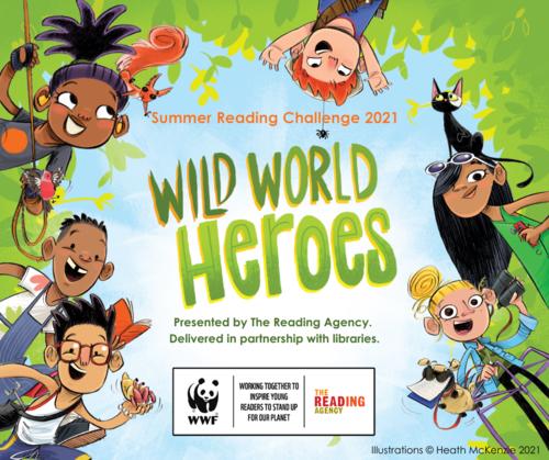 Summer Reading Challenge 2021 - World Wide Heroes
