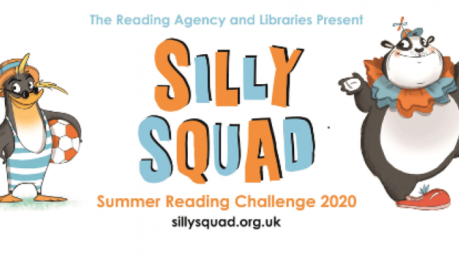 Silly Squad 2020 Summer Reading Challenge